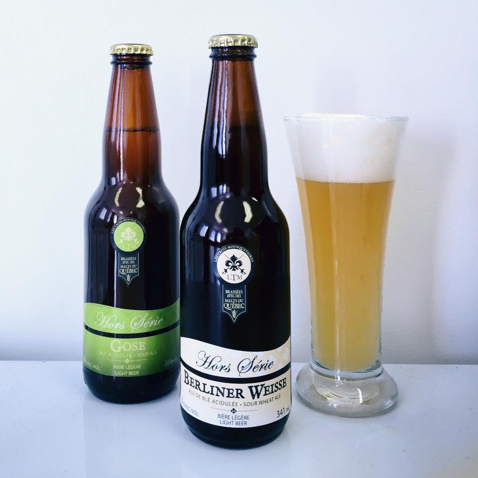 Distribution de nos bières acidulées : Gose et Berliner Weisse