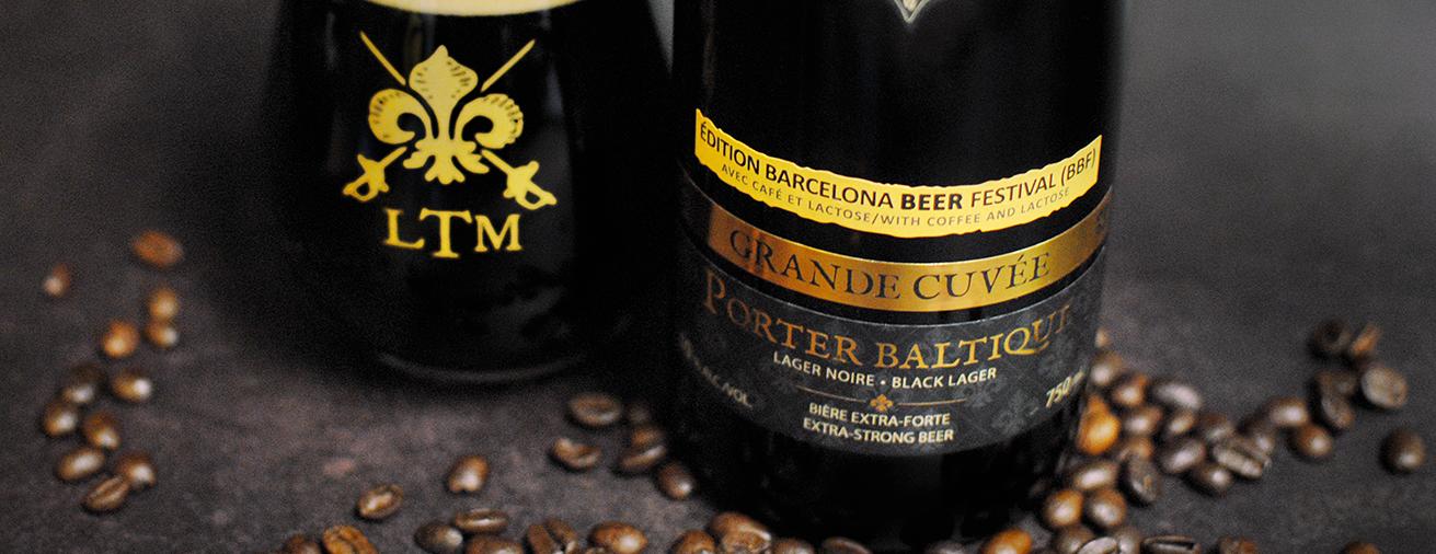 Porter Baltique Café Lactose, bière officielle du Barcelona Beer Festival